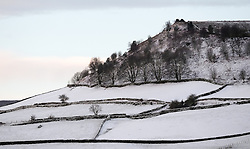 © Licensed to London News Pictures. <br /> 29/01/2015. <br /> <br /> Lealholm, United Kingdom<br /> <br /> Overnight snowfall covers the countryside around Lealholm in North Yorkshire. A wintery blast causing extremely cold weather is expected to cause some disruption over the next few days.<br /> <br /> Photo credit : Ian Forsyth/LNP