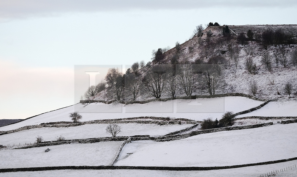 &copy; Licensed to London News Pictures. <br /> 29/01/2015. <br /> <br /> Lealholm, United Kingdom<br /> <br /> Overnight snowfall covers the countryside around Lealholm in North Yorkshire. A wintery blast causing extremely cold weather is expected to cause some disruption over the next few days.<br /> <br /> Photo credit : Ian Forsyth/LNP