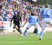 Dundee's Phil Roberts -  St Johnstone v Dundee, SPFL Premiership at McDiarmid Park<br /> <br />  - &copy; David Young - www.davidyoungphoto.co.uk - email: davidyoungphoto@gmail.com