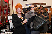 JUDITH WATT;  SARAH MURRAY, Judith Watt's Dogs in Vogue BOOK LAUNCH. James Purdey and Sons. 57-58 S. Audley St. London.