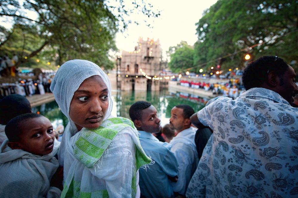 ETH, Ethiopia, Gonder, Gonder, Gondar, Gonder, Gondar, Fasilidas Bath, Pool