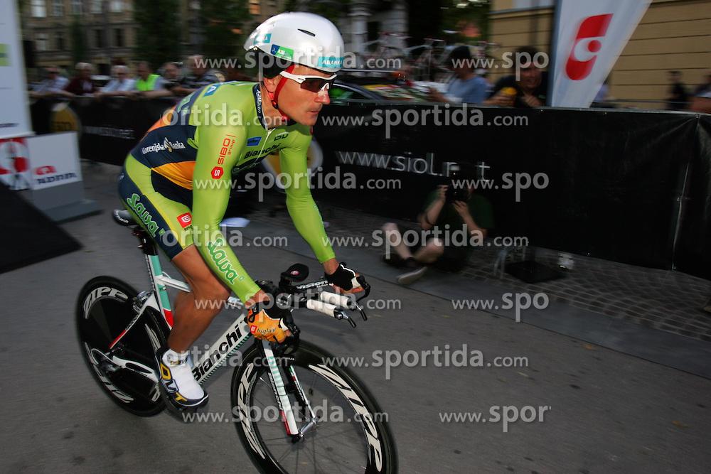 Zrimsek Jure (SLO) of Sava at prologue (6,6km) of Tour de Slovenie 2011, on June 16 2011, in Ljubljana, Slovenia. (Photo by Urban Urbanc / Sportida)