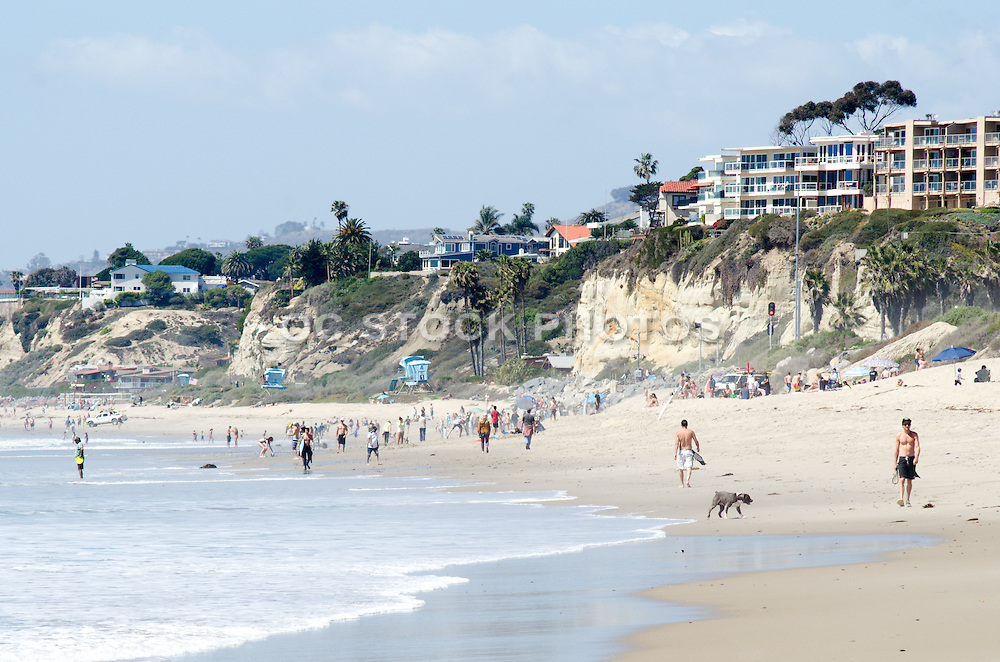 San Clemente State Beach During Spring