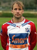 Fotball<br /> La Manga - Spania<br /> 21.02.2005<br /> FC Lyn Oslo<br /> Foto: Morten Olsen, Digitalsport<br /> <br /> Henrik Dahl