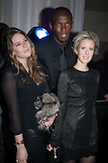 TARKA RUSSELL; USAIN BOLT; ELIZABETH ESTEVE, Fundraising Gala for the Zeitz foundation and Zoological Society of London hosted by Usain Bolt. . London Zoo. Regent's Park. London. 22 November 2012.