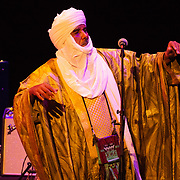 Tinariwen, a group of Tuareg musicians from northern Mali, perform at The Music Hall in Portsmouth, NH, July 25, 2018