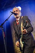 Ruben Block/Triggerfinger performing at the Rock A Field Festival in Luxembourg, Europe on June 24, 2012