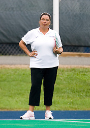 Virginia Cavaliers Head Coach Michele Madison..The #10 ranked Virginia Cavaliers fell to the #7 ranked Penn State Nittany Lions 3-1 at the University Hall Turf Field in Charlottesville, VA on August 26, 2007.
