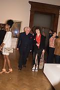 NEDKA BAVLIKU, MICHAEL SANDL; , Opening of Abstract Expressionism, Royal Academy, Piccadilly, London, 20 September 2016