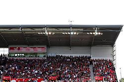 Bristol City fans in the away end - Rogan/JMP - 14/09/2019 - Bet365 Stadium - Stoke, England - Stoke City v Bristol City - Sky Bet Championship.