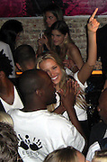 **EXCLUSIVE**.Wyclef Jean and Petra Nemcova.Unik's Birthday (PM Lounge owner).PM Lounge.New York, NY, USA .Wednesday, May, 27, 2007.Photo By Celebrityvibe.To license this image call (212) 410 5354 or;.Email: celebrityvibe@gmail.com; .