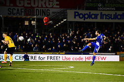 Edward Upson of Bristol Rovers scores  - Mandatory by-line: Dougie Allward/JMP - 07/12/2019 - FOOTBALL - Memorial Stadium - Bristol, England - Bristol Rovers v Southend United - Sky Bet League One