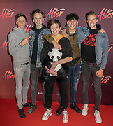2019, April 15. Pathe ArenA, Amsterdam, the Netherlands. Spaze at the dutch premiere of After.