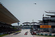 March 27-29, 2015: Malaysian Grand Prix - Start of the Malaysian Grand Prix