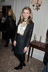 AMBER ATHERTON at the launch of Whole World Water at The Savoy Hotel, London on 22nd March 2013.