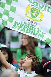 - Photo mandatory by-line: Joe Meredith/JMP - Tel: Mobile: 07966 386802 19/05/2013 - SPORT - FOOTBALL - LEAGUE 1 - PLAY OFF - FINAL - Wembley Stadium - London - Brentford V Yeovil Town
