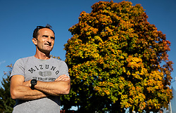 Portrait of Roman Kejzar, Slovenian former marathon athlete and coach, on October 16, 2019 in ZAK stadium, Ljubljana, Slovenia. Photo by Vid Ponikvar / Sportida