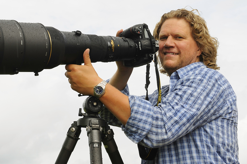 Portrait of photographer Anders Geidemark