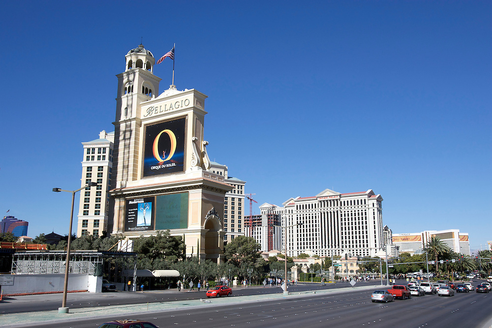 UNITED STATES-LAS VEGAS- The Bellagio Hotel and Casino. PHOTO by Gerrit de Heus. VERENIGDE STATEN-LAS VEGAS-Het Bellagio Hotel en casino aan Las Vegas Boulevard (The Strip) ANP PHOTO COPYRIGHT GERRIT DE HEUS