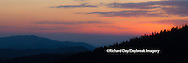 66745-046.03 Sunset at Clingmans Dome Great Smoky Mountains NP, TN