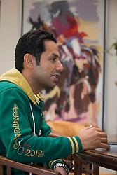At home with Kamal Bahamdan (KSA)<br /> Tops Stables - Valkenswaard 2012<br /> © Dirk Caremans