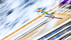 21.02.2016, Salpausselkae Schanze, Lahti, FIN, FIS Weltcup Ski Sprung, Lahti, Herren, im Bild Dawid Kubacki (POL) // Dawid Kubacki of Poland competes during Mens FIS Skijumping World Cup of the Lahti Ski Games at the Salpausselkae Hill in Lahti, Finland on 2016/02/21. EXPA Pictures © 2016, PhotoCredit: EXPA/ JFK