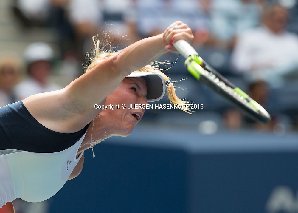 CAROLINE WOZNIACKI (DEN)<br /> <br /> Tennis - US Open 2016 - Grand Slam ITF / ATP / WTA -  USTA Billie Jean King National Tennis Center - New York - New York - USA  - 31 August 2016.