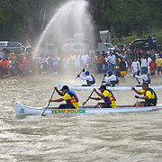 The start of the La Ruta Maya River Challenge 2008, San Ignacio, Belize