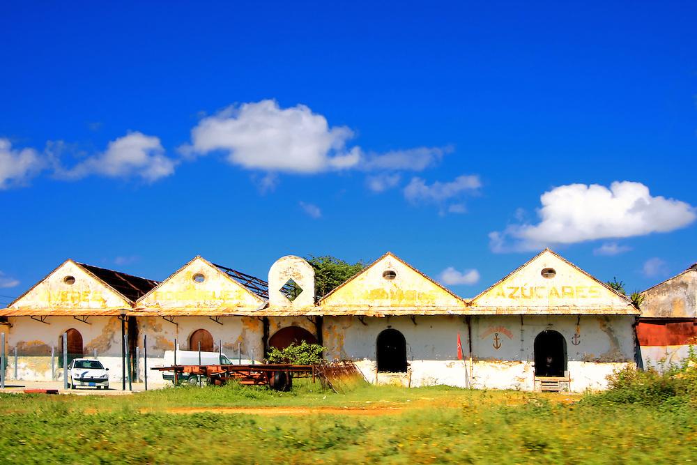 Buildings in Caibarien, Villa Clara, Cuba.
