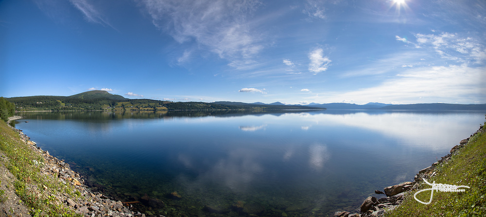 Blåsjön Jämtland, 121x54 cm, 58.4 MPixel