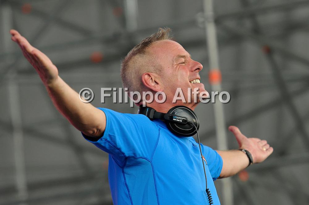 &copy; Filippo Alfero<br /> Kappa FuturFestival - Torino Summer Music Festival<br /> Torino, 30/06/2012<br /> Nella foto: Norman Cook aka Fatboy Slim