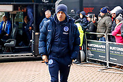 Brighton and Hove Albion defender Liam Rosenior (23)  during the Premier League match between Huddersfield Town and Brighton and Hove Albion at the John Smiths Stadium, Huddersfield, England on 9 December 2017. Photo by Simon Davies.