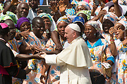 An African Delegation meetsPope Francis at the General Audience August 30, 2017