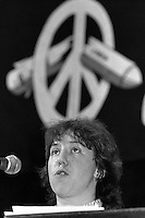 Cathy Ashton, CND Vice Chair November 1982, now Baroness Ashton of Upholland , First- Vice-President of the European Commission and High Representative for Foreign Affairs and Security Policy of the European Union.