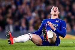 Ross Barkley of Chelsea cuts a frustrated figure - Mandatory by-line: Robbie Stephenson/JMP - 18/04/2019 - FOOTBALL - Stamford Bridge - London, England - Chelsea v Slavia Prague - UEFA Europa League Quarter Final 2nd Leg