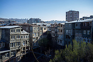 An old neighbourhood in the centre of Yerevan, Armenia's capital.