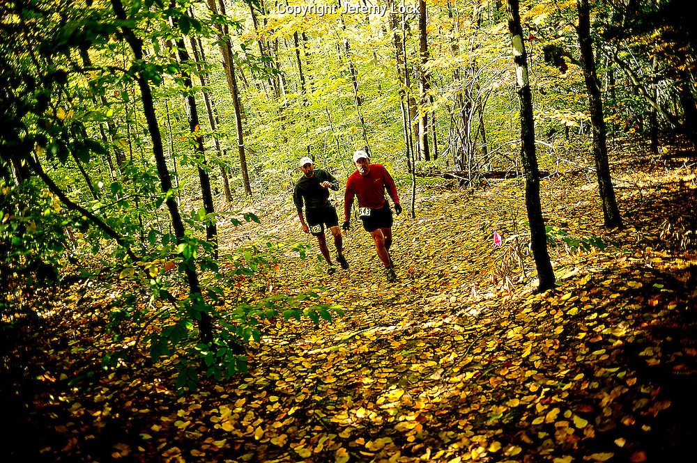 Oil Creek 100 Mile Trail Runs Oct 10-11 2009.