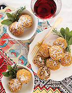 Mushroom arancini for the Capital Style Holiday cooking and wine pairings story. (Will Shilling/Capital Style)