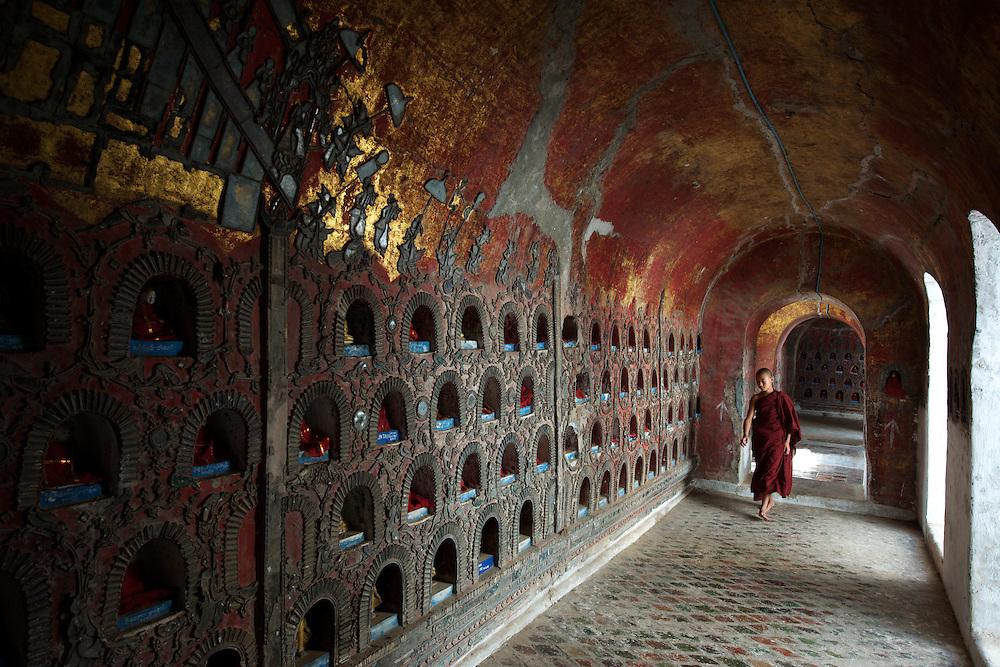Shwe Yaunghwe Kyaung, teak wood monastery, Nyaungshwe.