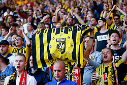 Vitesse Arnhem fans - Mandatory by-line: Jason Brown/JMP - Mobile 07966386802 - 31/07/2015 - SPORT - FOOTBALL - Southampton, St Mary's Stadium - Southampton v Vitesse Arnhem - Europa League
