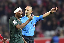March 15, 2019 - Lille, France, FRANCE - blessure de JEMERSON  (Credit Image: © Panoramic via ZUMA Press)
