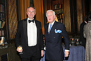 WILLIAM CASH; SIR BENJAMIN SLADE, Celebration of the  200TH Anniversary of the  Birth of Rt.Hon. John Bright MP  and the publication of <br /> ÔJohn Bright: Statesman, Orator, AgitatorÕ by Bill Cash MP. Reform Club. London. 14 November 2011. <br /> <br />  , -DO NOT ARCHIVE-© Copyright Photograph by Dafydd Jones. 248 Clapham Rd. London SW9 0PZ. Tel 0207 820 0771. www.dafjones.com.<br /> WILLIAM CASH; SIR BENJAMIN SLADE, Celebration of the  200TH Anniversary of the  Birth of Rt.Hon. John Bright MP  and the publication of <br /> 'John Bright: Statesman, Orator, Agitator' by Bill Cash MP. Reform Club. London. 14 November 2011. <br /> <br />  , -DO NOT ARCHIVE-© Copyright Photograph by Dafydd Jones. 248 Clapham Rd. London SW9 0PZ. Tel 0207 820 0771. www.dafjones.com.