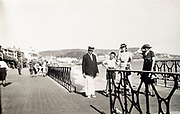 by the sea on the promenade France 1935