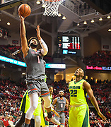 LUBBOCK, TX - DECEMBER 29: Brandone Francis #1 of the Texas Tech Red Raiders goes to the basket and scores during the game aBaylor Bears on December 29, 2017 at United Supermarket Arena in Lubbock, Texas. Texas Tech defeated Baylor 77-53. (Photo by John Weast/Getty Images) *** Local Caption *** Brandone Francis
