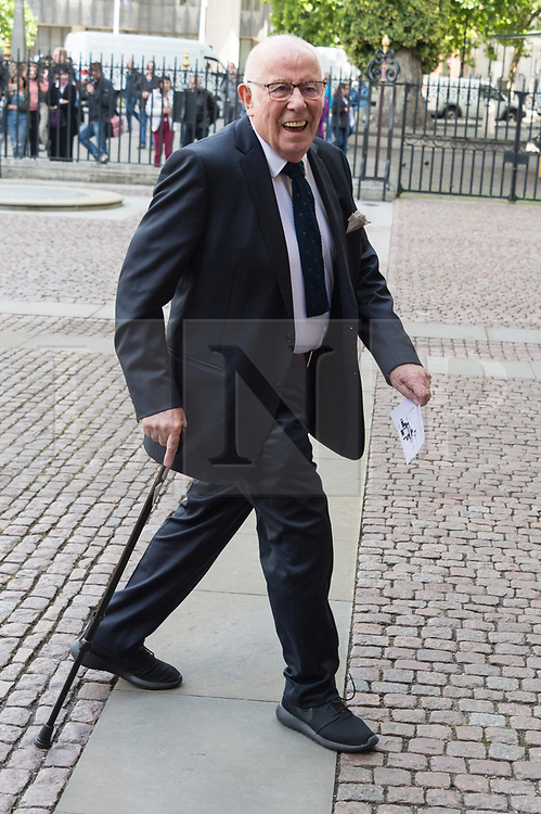 © Licensed to London News Pictures. 07/06/2017.  London, UK. RICHARD WILSON attends the Memorial Service of RONNIE CORBETT at Westminster Abbey. The entertainer, comedian, actor, writer, and broadcaster was best known for his long association with Ronnie Barker in the BBC television comedy sketch show The Two Ronnies. Photo credit: Ray Tang/LNP