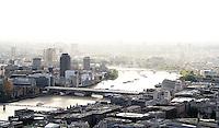 LONDON - OCTOBER 01: London Skyline Views from Tower 42, London, UK. October 01, 2012. (Photo by Richard Goldschmidt)