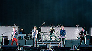 Phoenix performing live at the Rock A Field Festival in Luxembourg, Europe on June 29, 2013