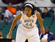 North Carolina defeats Clemson in the 2011 ACC Women's Basketball Tournament held at the Greensboro Coliseum in Greensboro, North Carolina.  (Photo by Mark W. Sutton)