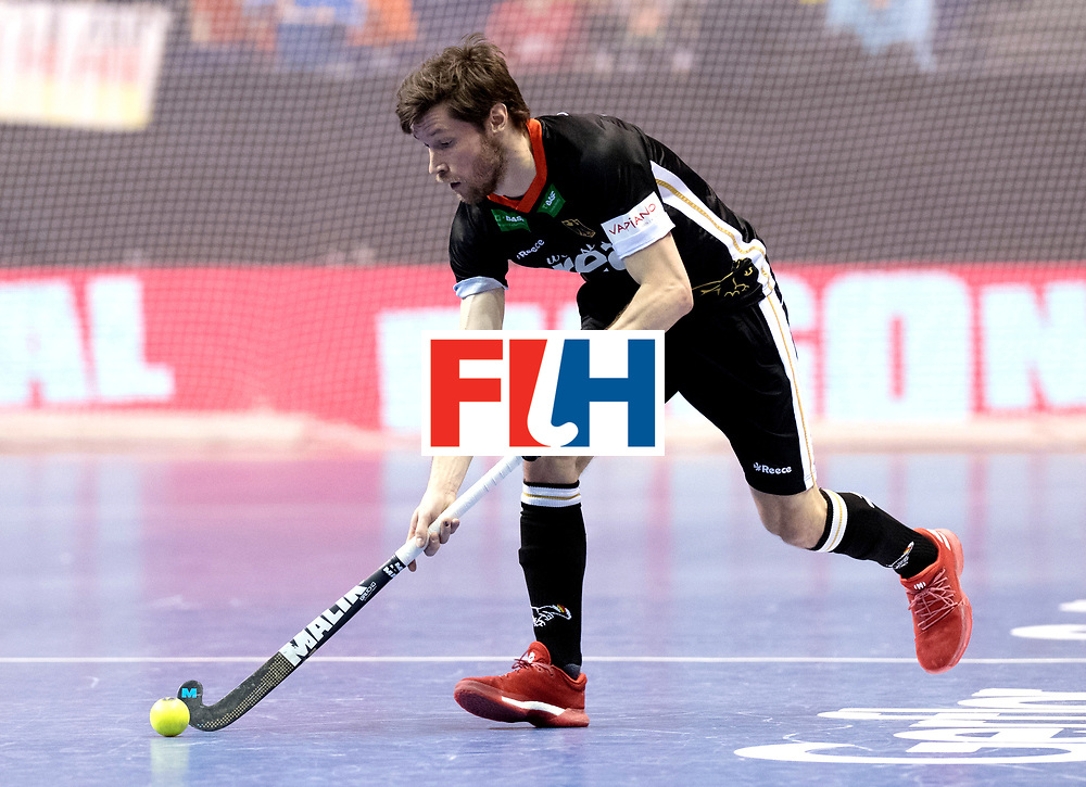 BERLIN - Indoor Hockey World Cup<br /> Semi-final 1: Germany - Iran<br /> foto: Martin Zwicker.<br /> WORLDSPORTPICS COPYRIGHT FRANK UIJLENBROEK