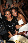 l to r: Kelly Mitchell and Kelli Coleman at The Birthday Celebration for Kelli Coleman held at The Avenue on Decemeber 6, 2009 in New York City